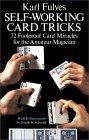 Self WorkingCard - Livres de magie des Cartes en anglais
