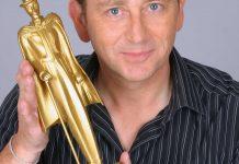 Gilles Arthur et la statuette Mandraked'Or