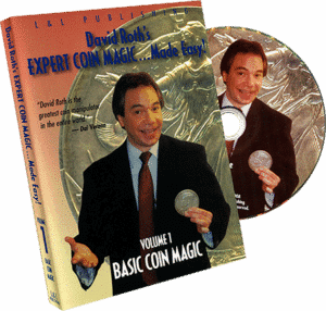Expert Coin Magic Made Easy ! vol. 1 de David ROTH