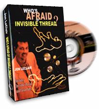 Who's Afraid Of Invisible Thread de Jon LECLAIR
