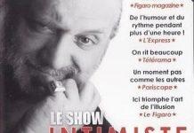 Intimiste Show de Dominique DUVIVIER