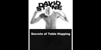 Secret of Table Hopping (David Stone)