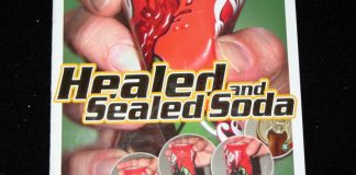 Healed and Sealed Soda d'Anders MODEN