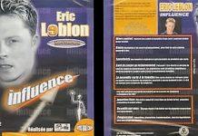 Influence d'Eric LEBLON