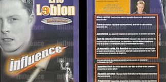 Influence d'Eric LEBLON