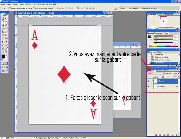 dimension carte à jouer Imprimer ses Cartes à Jouer | ▷ Virtual Magie