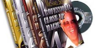 Professional Close-Up Magic (4 Volumes) par Michael SKINNER