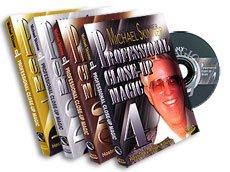 Professional Close-Up Magic (4 Volumes) par Michael SKINNER