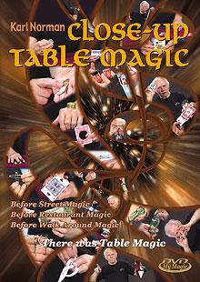 Close Up Table Magic de Karl NORMAN
