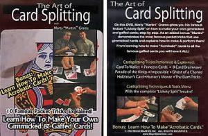 The Art Of Card Splitting de Marty «Martini» GRAMS