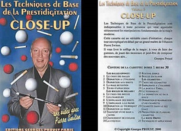 Les Techniques de Base de la Prestidigitation Volume 3 Close-Up de Pierre SWITON