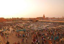 Place Jemaa-el-Fna à Marrakech au Maroc - Luc_Viatour