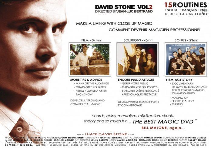 Les Vrais Secrets du Close Up The Real Secrets of Magic 2 de David STONE