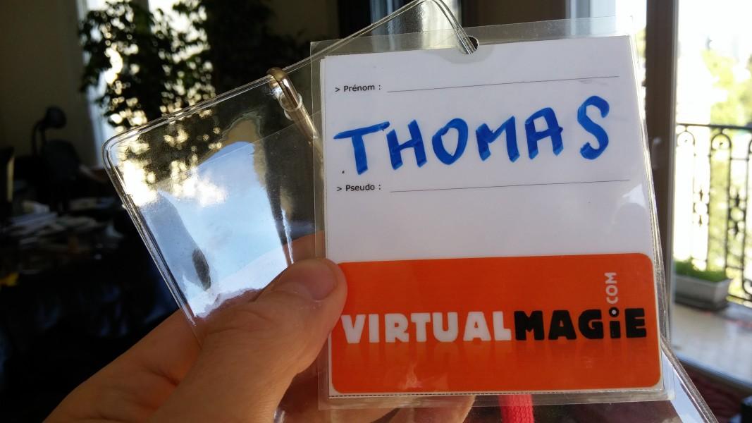 Badge Virtual Magie