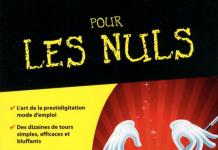 La magie pour les nuls de Bernard Bilis & David Pogue