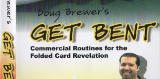 Get Bent Commercial Routines for the Folded Card Revelation de Doug BREWER