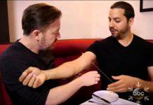 David BLAINE & Rick GERVAIS - aiguille