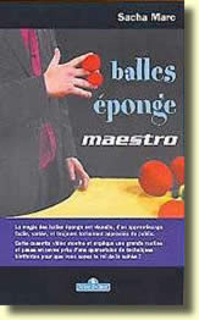 Balles Eponge Maestro de Sacha MARC