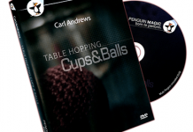 Table Hopping Cups and Balls de Carl ANDREWS