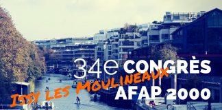 34e Congrès AFAP Issy les Moulineaux