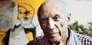Pablo Picasso à Mougins en 1971