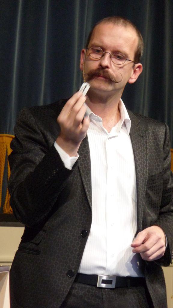 Axel Hecklau au 44e Congrès FFAP Paris du 21 au 241010 - Photographe Thomas THIEBAUT pour Virtual Magie