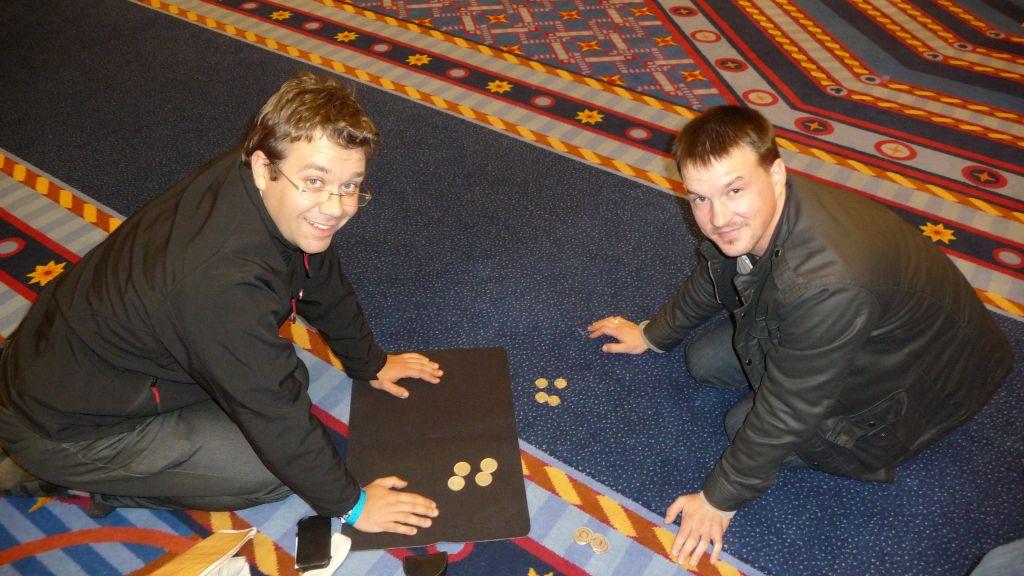 Jérôme & Damien au 44e Congrès FFAP Paris du 21 au 241010 - Photographe Thomas THIEBAUT pour Virtual Magie