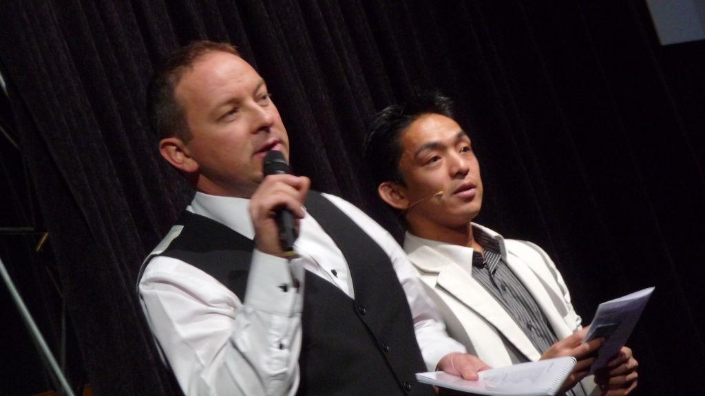 David ETHAN & Tao au 44e Congrès FFAP Paris du 21 au 241010 - Photographe Thomas THIEBAUT pour Virtual Magie