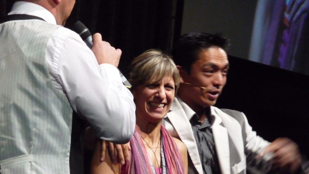 Sophie & Tao au 44e Congrès FFAP Paris du 21 au 241010 - Photographe Thomas THIEBAUT pour Virtual Magie