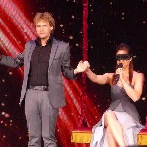 Amelie & Thommy Ten à la FISM 2015 Rimini par Peter DIN pour VirtualMagie