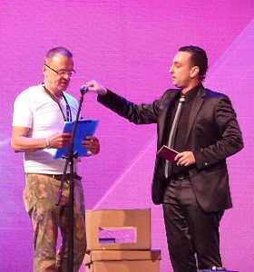 Otto WESSELY & Augusto Zanardi à la FISM 2015 Rimini par Peter DIN pour VirtualMagie