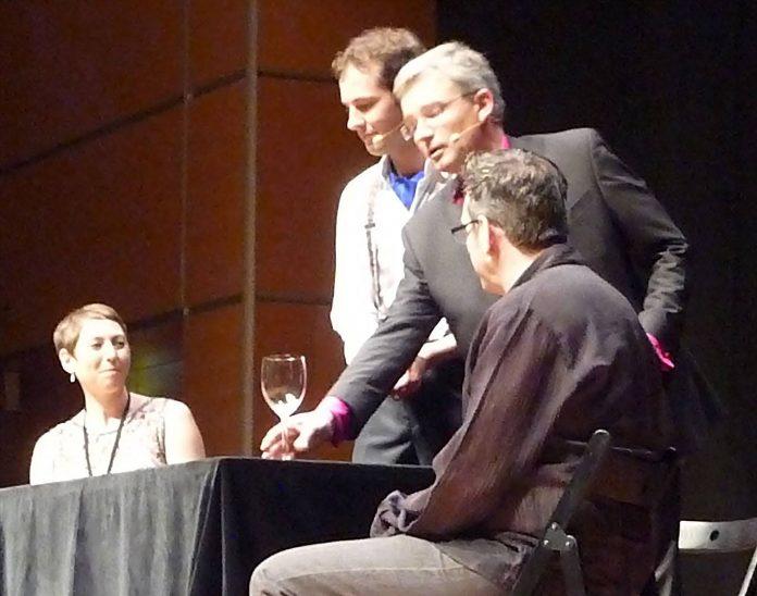 Hannes Freytag & Vincente Noguera à la FISM 2015 Rimini par Peter DIN pour VirtualMagie