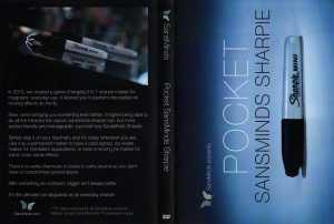 Pocket SansMinds Sharpie (DVD and Gimmick) de SansMinds