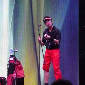 Seiya à la FISM 2015 Rimini par Peter DIN pour VirtualMagie