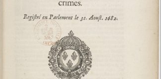 Édit... pour la punition de différents crimes [magie, sortilèges, empoisonnem