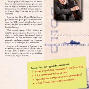 4e de couverture de Ultra Mental de Florian SEVERIN