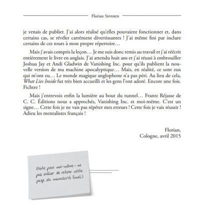 Préface 2 de Ultra Mental de Florian SEVERIN 419x420 - Ultra Mental de Florian SEVERIN