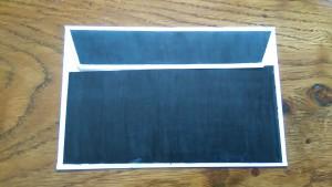 Enveloppe Prédi(le)ction vue de dos