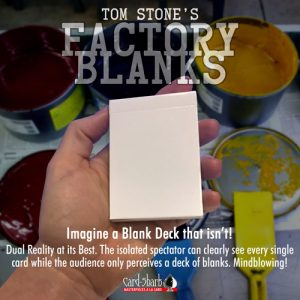 Factory Blanks de Tom STONE