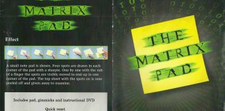 The Matrix Pad de Richard GRIFFIN