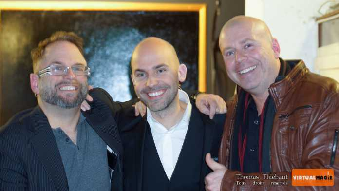 Michel HUOT, Viktor VINCENT et Yannick LACROIX