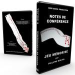 DVD Jeu Mémorisé de Philippe MOLINA