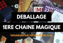 Déballages de la Chaîne Magique / SWAP