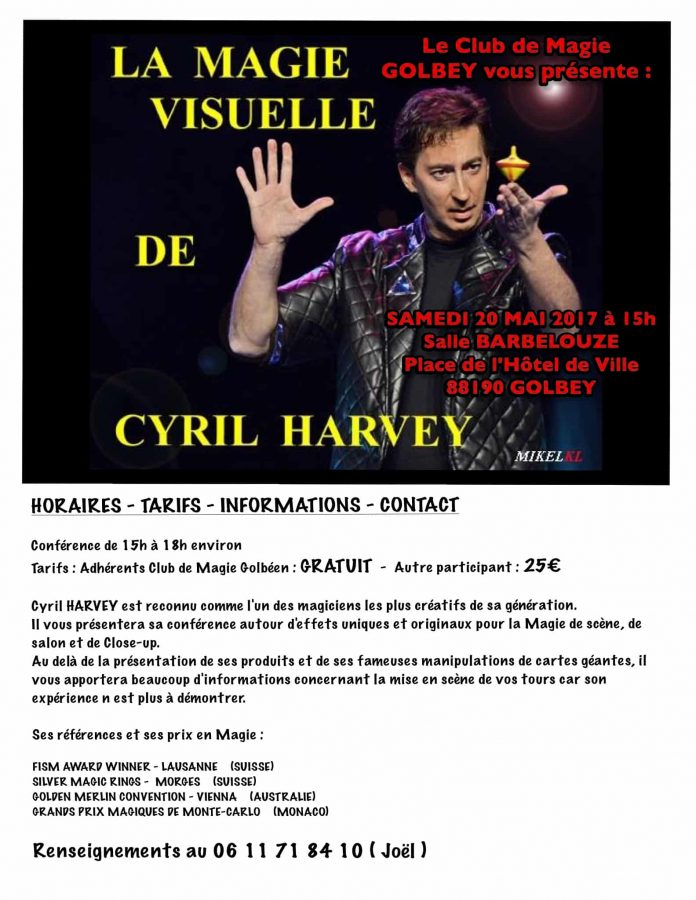 Conférence de Cyril HARVEY (88)