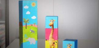 Fabrication du tour Olaf la Girafe