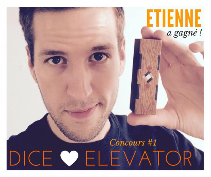 Etienne gagnant du Concours 1