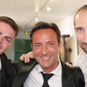 Nikola PELLETIER, Antonio BEMBIRE, & Mikaël SZANYIEL - photo de Thomas Thiébaut pour VirtualMagie