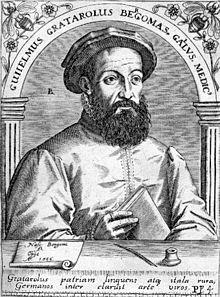 Guillaume GRATAROLI DE BERGAME