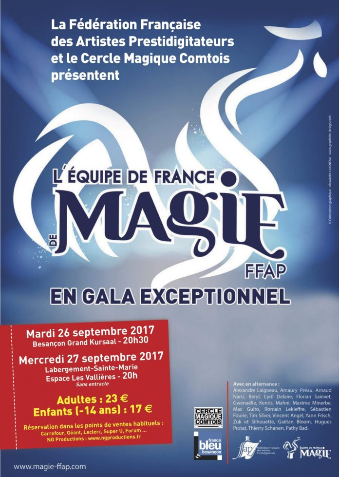 Gala Equipe de France de Magie FFAP