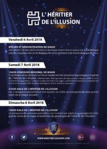 Festival de l'Héritier de l'Illusion et concours régional